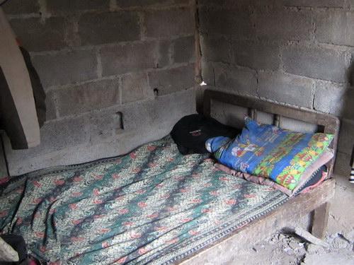 Wayan Budiarta poor family in Pajahan Village Pupuan