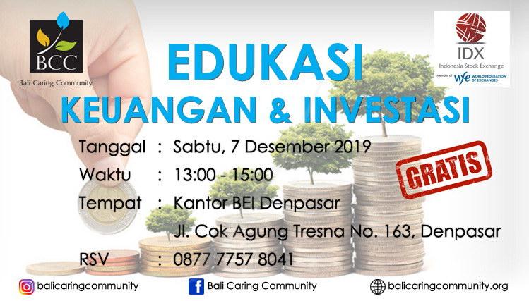Edukasi Keuangan Investasi